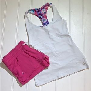 Sports top and shorts